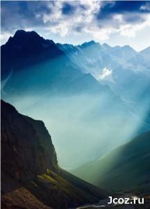 Ущелье в Абхазии